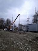 Новость от 17.11.2017: Продолжаются работы по сооружению трансформаторной подстанции на ГЭС в городе Снятин