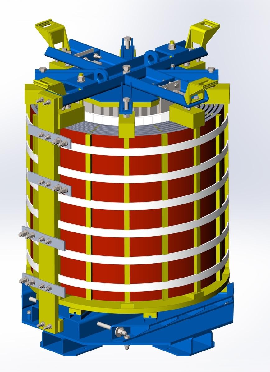0,66-10 кВ Реакторы сухие сглаживающие (фильтровые) типа ФРОС