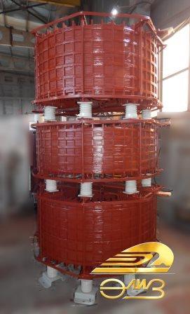 6-10кВ Реакторы сухие токоограничивающие типа РТОС, РТСТ, РТСТГ, РТСТУ
