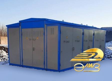 6, 10, 35кВ Комплектная трансформаторная подстанция  типа КТПГС-100…1000/6(10, 35)/0,4-У1