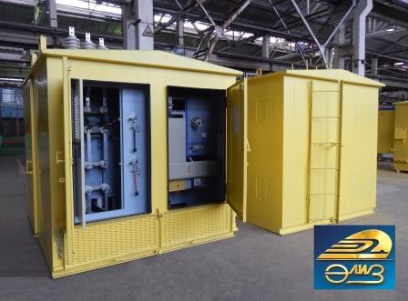 6-10 кВ Комплектные трансформаторные подстанции типа ПКТП-25…630/6(10)/0,4-У1