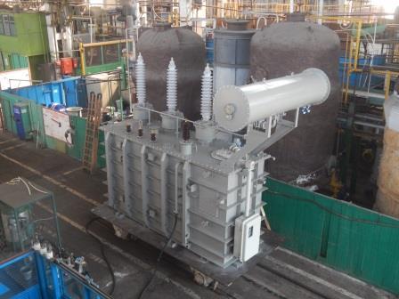 Силовой трансформатор ТМН-4000/110-У1 115/6,6 Ун/Д-11